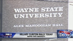 Hillary Clinton to speak at Wayne State Oct. 10