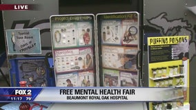 2018 Mental Health Fair at Beaumont Royal Oak