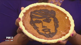Achatz 'Hillacream' and 'Trumpkin' pies celebrate candidates