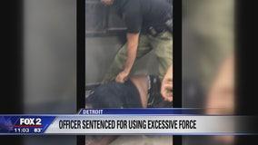 Former Detroit officer gets probation, anger management after gas station assault