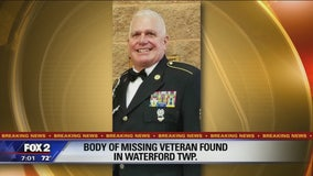 Body of missing Waterford military man with PTSD found