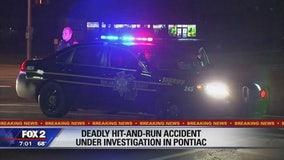 Man killed in hit-and-run in Pontiac