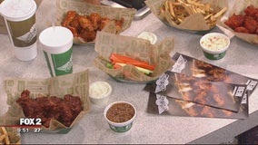 Perfect party wings with Wingstop