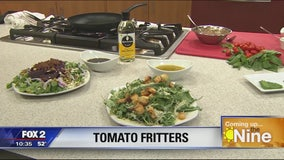 Use up your tomatoes with this fritter recipe from Republica