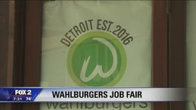 Wahlburgers Detroit holding job fair this week