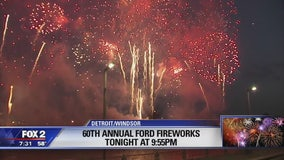Thousands expected downtown for Detroit fireworks show tonight