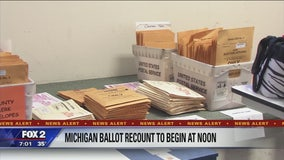 Michigan vote recount to begin today by noon
