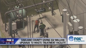 Oakland Co. investing $32 million in high-tech waste treatment facility in Pontiac