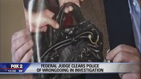 Federal judge clears police of wrongdoing in investigation