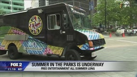 Quicken Loans Summer in the Parks events