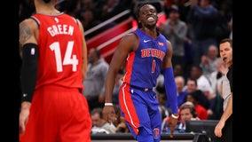 Pistons top Raptors 112-107 in OT