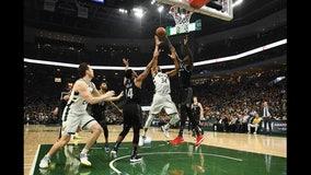 Antetokounpo leads Bucks past Pistons for 2-0 series lead