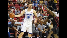 Pistons stay undefeated in Vegas Summer League