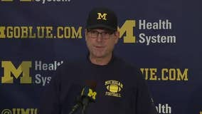 WATCH: Jim Harbaugh gives injury updates, depth chart and much more