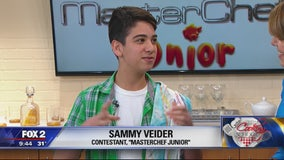 Huntington Woods student competing in Masterchef Jr.