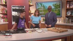 Kids in the Kitchen fundraiser feat. Sammy Vieder, Masterchef Jr. contestant