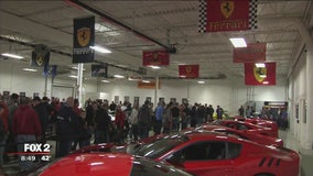 Lingenfelter car collection charity open house