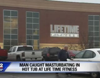 Man Issued A Ticket For Groping Himself At A Life Time Fitness In Canton