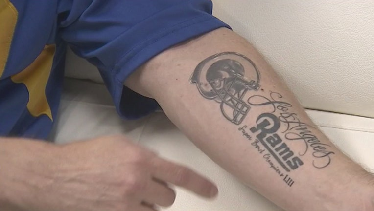KSAZ Rams Tattoo 013119-408200