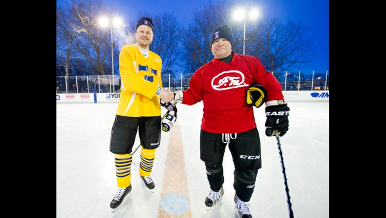 Clark Park Winter Carnimal and Hockey Classic with M.L. Elrick (Photo Credit Skillman Foundation)