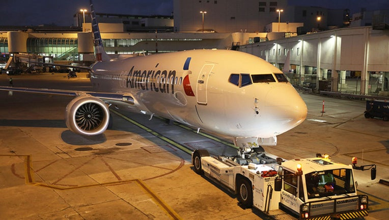 GETTY IMAGES American Airlines 737 Max-401385