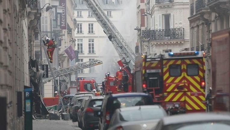 Getty Paris France gas explosion-401096