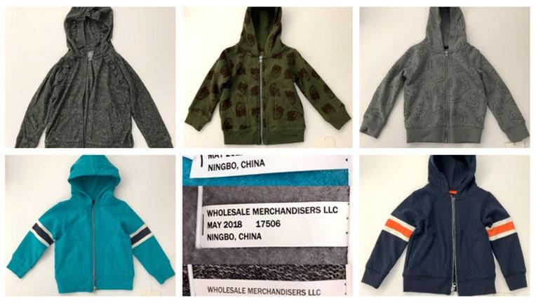 Meijer hoodies recalled-404023