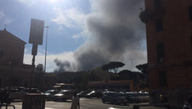 Smoke Outside Vatican-402970