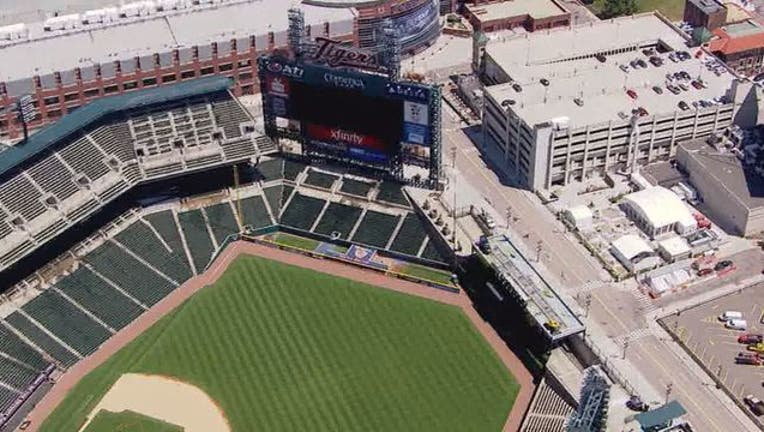 Tigers switch to mobile-only tickets at Comerica Park for ...
