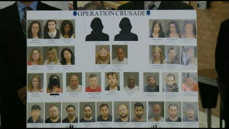 68fb0360-35 arrests made in Warren during multi-day human trafficking sting