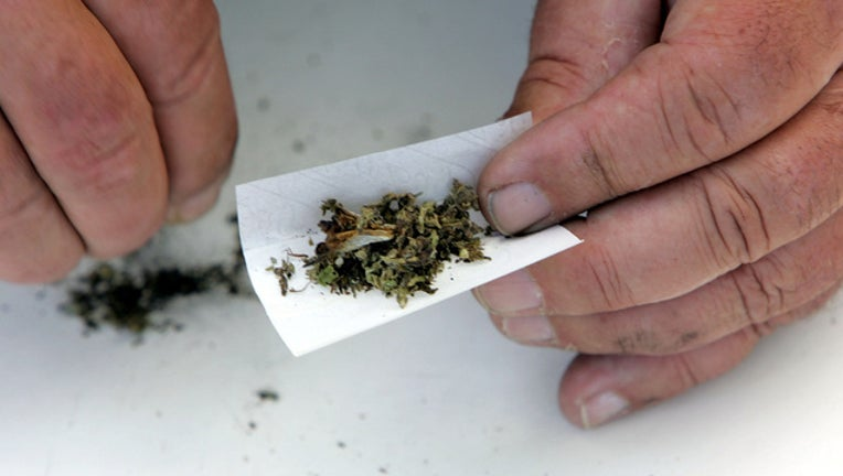 rolling marijuana getty image
