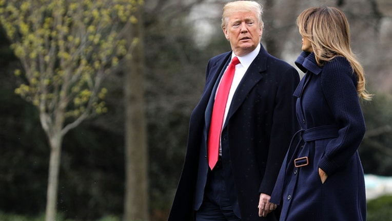 Donald Trump and Melania Trump (GETTY IMAGES)-401720