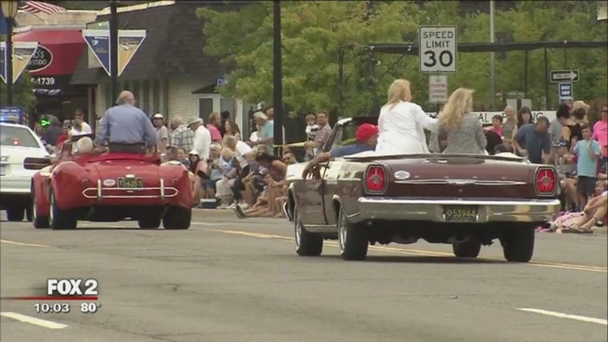 "Oakland County GOP hosting ""MAGA Classic Car Cruise"" on Woodward"
