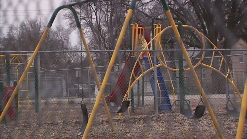 More than 40 razor blades found on Michigan playground