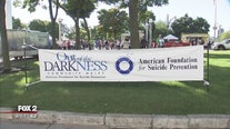 Out of the Darkness walk this weekend at Hart Plaza