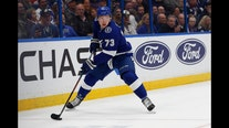 Red Wings get F Adam Erne from Lightning for 4th-round pick