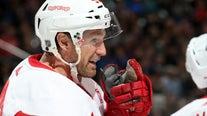 WATCH: Red Wings defenseman Niklas Kronwall retires