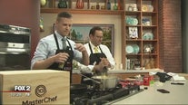 'Masterchef' mystery box challenge with Derek and Ryan