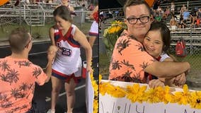 Heartwarming video shows Florida boy asking girlfriend, both with Down syndrome, to homecoming