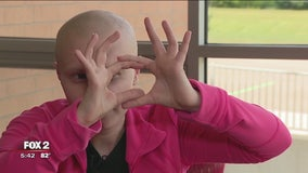 Diagnosed with brain cancer in college, 20-year-old overcomes chemo while still in school