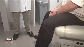 Men wait too long to get their annual check up