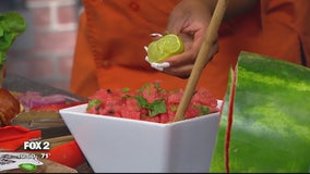 Watermelon refresher dish for your Labor Day picnic