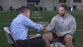 Miller goes one-on-one with Nick Bawden