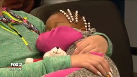 Parents of 2-year-old girl found in Detroit not getting her back - yet
