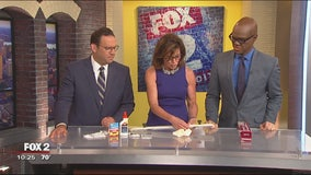 Jill of All Trades shows us how to repair a furniture crack