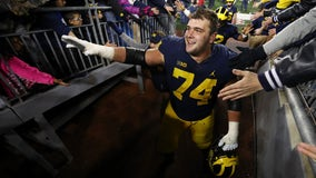 Michigan's Harbaugh & Bredeson ready to play Wisconsin on FOX 2