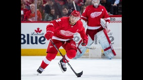 Red Wings re-sign D Joe Hicketts to 2-year deal