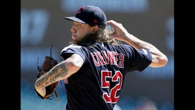 Clevinger, Indians blank Tigers 2-0 for 3-game sweep