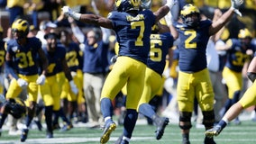 WATCH: No. 7 Michigan holds on to beat Army 24-21 in 2 overtimes