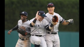 Yankees sweep Tigers in doubleheader